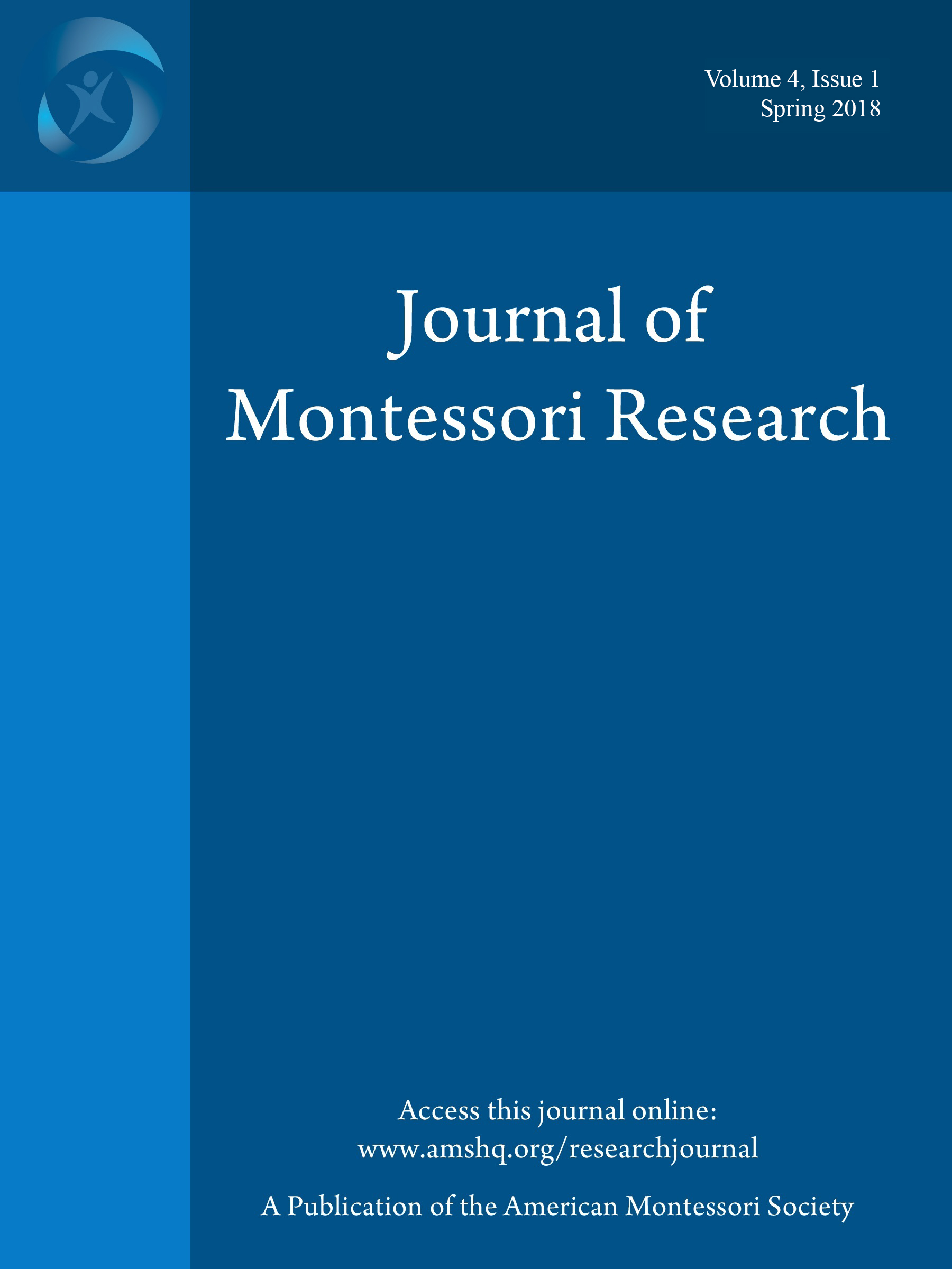 Journal of Montessori Research cover