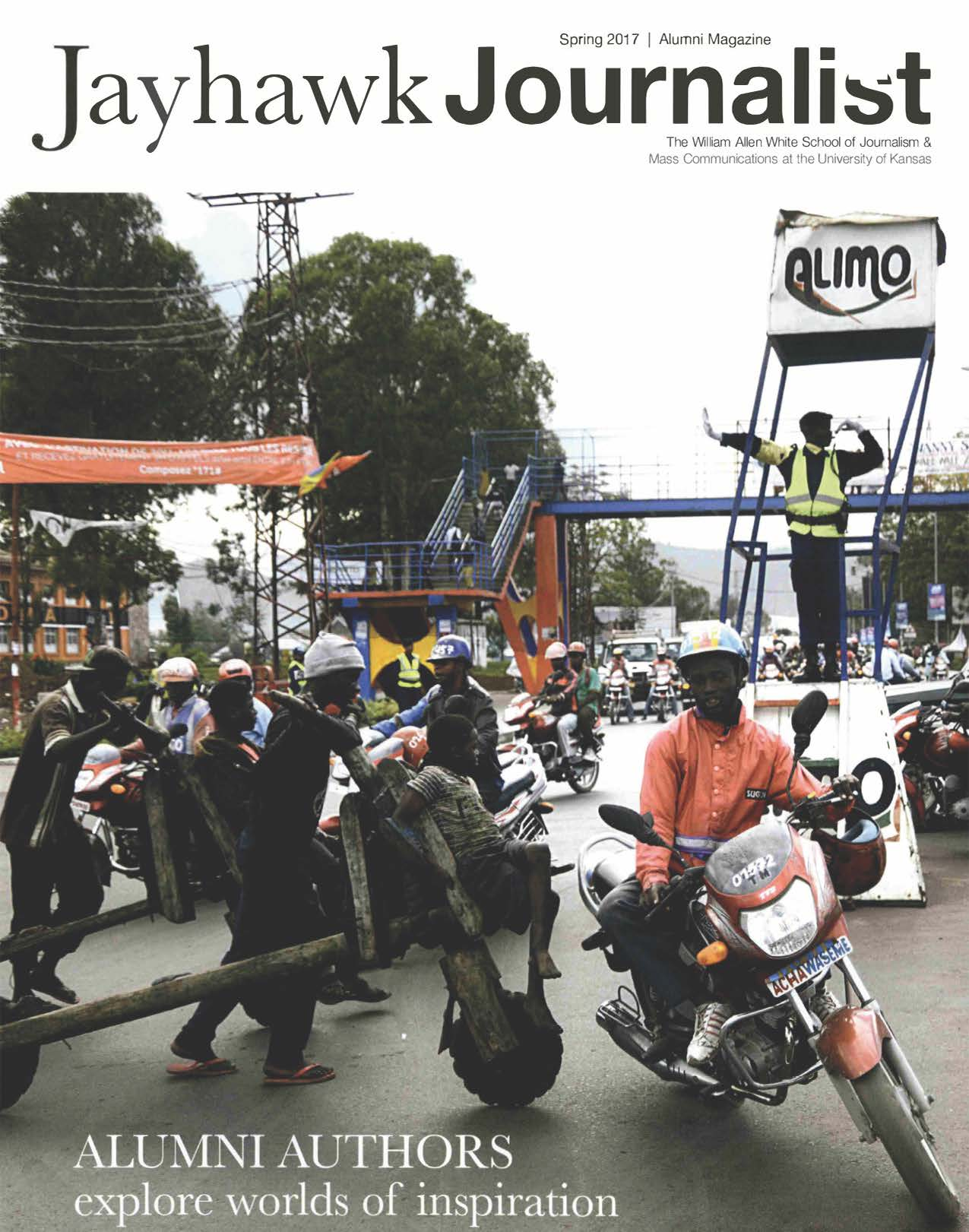 Jayhawk Journalist cover-Street life in Goma, Democratic Republic of the Congo