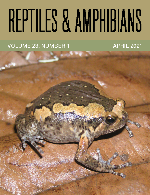 View Vol. 28 No. 1 (2021): Reptiles & Amphibians